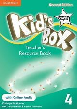 Kid's Box American English Level 4 Teacher's Resource Book with Online Audio (Mi