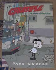 Vintage Crumple Status of Knuckle Dave Cooper TPB Graphic Novel Fantagraphics