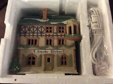 Dept 56~�E. Staubr Backer�~Alpine Village Series~#6540-4~Nib