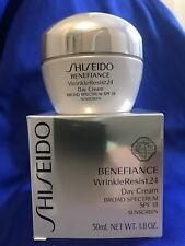 Shiseido Benefiance WrinkleResist24 Day Cream Broad Spectrum SPF18  1.8 oz NIB