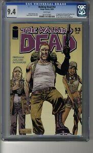 Walking Dead # 53 - CGC 9.4 WHITE Pages - First App Abraham, Rosita & Eugene