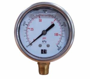 Pressure Gauges (OIL FILLED)