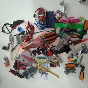 Vintage & Modern Mixed Action Figures Weapons Accessories Joblot Bundle bits