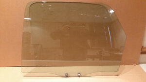 OEM 01-07 Ford Escape Rear Driver's Side Door Window Glass Panel Assembly LH