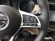 Interior Steering Wheel Button Cover for Nissan Qashqai Rogue Sport 2017-2018