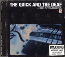The Specimens: The Quick And The Deaf, CD, like new, ex music store stock