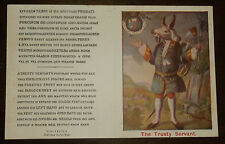 "Postcard Vintage - Hircocervus ""The Trusty Servant"" Goat Stag -Unsent Winchester"