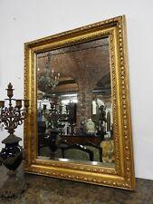 Antique Miroir période cadre en bois or dorure or contemporaines 4