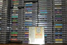 NINTENDO NES VIDEO GAMES - LOT - DOZENS OF GAMES TO CHOOSE FROM - $2 & up 💥💥