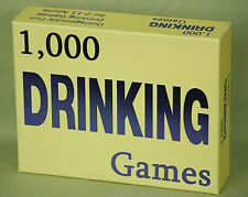 Drinking Game 1,000 Classic Card Dice Games Fun Easy Gag Gift 1000 Beer