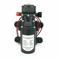 Bomba de agua autocebante de diafragma DC 24V 80W 5.5L//MIN port/átil con interruptor de presi/ón autom/ático