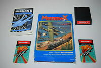 Mission X Mattel Intellivision Video Game Complete in Box