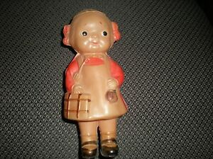 Vintage Celluloid Doll Antique Japan 5 inches Old Dolls 1930's Toys Collectibles