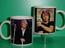 JON BON JOVI - with 2 Photos - Designer Collectible GIFT Mug 01
