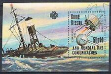 Schepen / Schiffe / Ship - Guine Bissau gestempeld 1983 used block 254 (zak037)