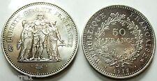 FRANCE (FRANCIA) 50 Francs Silver -1977