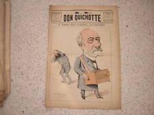 1884.Don Quichotte caricature.député Achard Bordeaux