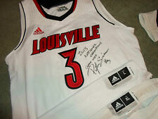 Peyton Siva 2012-13 Louisville Cardinals Authentic Game Used Jersey & Uniform