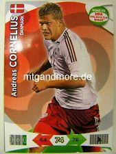 Adrenalyn XL - Andreas Cornelius - Dänemark - Road to 2014 FIFA World Cup Brazil