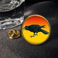 Crow Raven Corneille Corbeau Rabe Lapel Pin Badge Gift