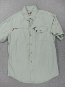 Duck Camp Breathable HookSetter Shirt (Mens Medium) Mint Green