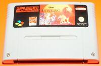 The Lion King Games Gioco VideoGioco per Console Nintendo Super Nes Snes Used
