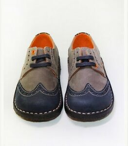 New Joojos Boys shoes Leather Classic Oxfords Wing Tips US10.5 UK9 EU26 $119