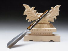 Medium Blade! Shave Ready! TAMAHAGANE NAGAMASA J*apanese Straight Razor #A-179