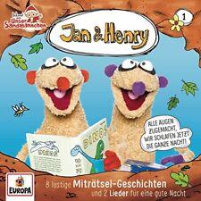 CD * JAN & HENRY- HSP 01 - 8 LUSTIGE MITRÄTSEL-GESCHICHTEN UND 2 # NEU OVP =