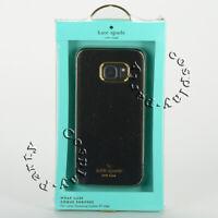 Kate Spade Wrap Saffiano Leather Case Cover For Samsung Galaxy S7 Edge - Black