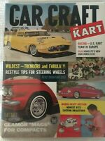 1962 CAR CRAFT Magazine January Issue  US Kart Team in Europe  Glamor 'Mags'