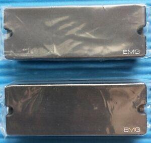 (LAST ONE) EMG 40P5 + 40J ACTIVE SOAPBAR 5 STRING BASS GUITAR PICKUP SET