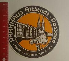 Aufkleber/Sticker: Parken kaufen Mitten in Hof Parkhaus Altstadt (14011768)