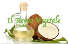 OLIO di Cocco Puro 100 ml Uso Esterno e Alimentare Vergine Vegan Senza Additivi