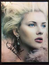 Scarlett Johansson ++ Autogramm ++ Hitchcock ++ Iron Man ++ Autograph