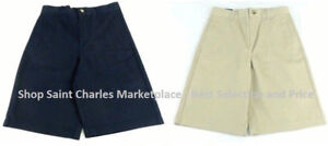 French Toast Boys Uniform Moisture Wicking Shorts, Adjustable Waist, VARIETY