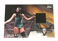 2017 WWE Topps Then Now Forever Billie KAY 08/25 NXT Takeover Canvas Mat Relic