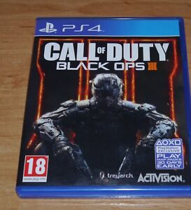 Call of duty Black ops III 3 Game for Sony PS4 Playstation 4