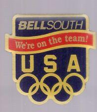 1996 Bellsouth Atlanta Olympic Pin USA Rings