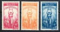 Romania 1948 MNH Mi 1118-1120 Sc 681-683 New constitution .Peoples Republic **