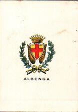 """FIGURINA """" STEMMI DELLE CITTA' ITALIANE """" SERIE DI 100 - ALBENGA -   C10-910"""