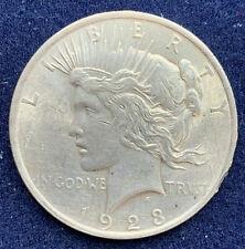 USA - Peace Dollar 1928 - One Dollar - Silber