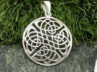 Keltischer Knoten 925 Sterling Silber Anhänger Kelten Wikinger Keltenschmuck