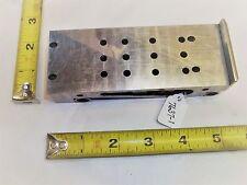 "Sine Plate, Made by Toolmaker,  2"" Wide x 5-5/16""  Long, 4"" between rolls, USA"