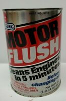 Vintage Oil Can Gunk Motor Flush Great Condition Empty but Unopened PLEASE READ