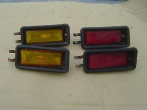 Alfa Romeo Alfetta GT Lamborghini ALTISSIMO Side Marker Lights Set of 4