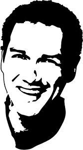 Norm Macdonald  VINYL DECAL sticker die cut, SNL, comedy, Dirty Work