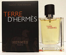 Hermes Terre D'Hermes Parfum .42 oz Pure Perfume Mens Travel Size Cologne Spray