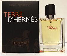Hermes Terre D'Hermes Parfum .42 oz Pure Perfume Mens Travel Size Cologne Spray