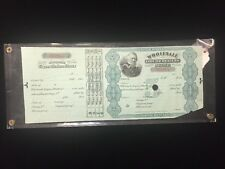 Antique Original 1878 US INTERNAL REVENUE LIQUOR License Dealers Stamp Wholesale